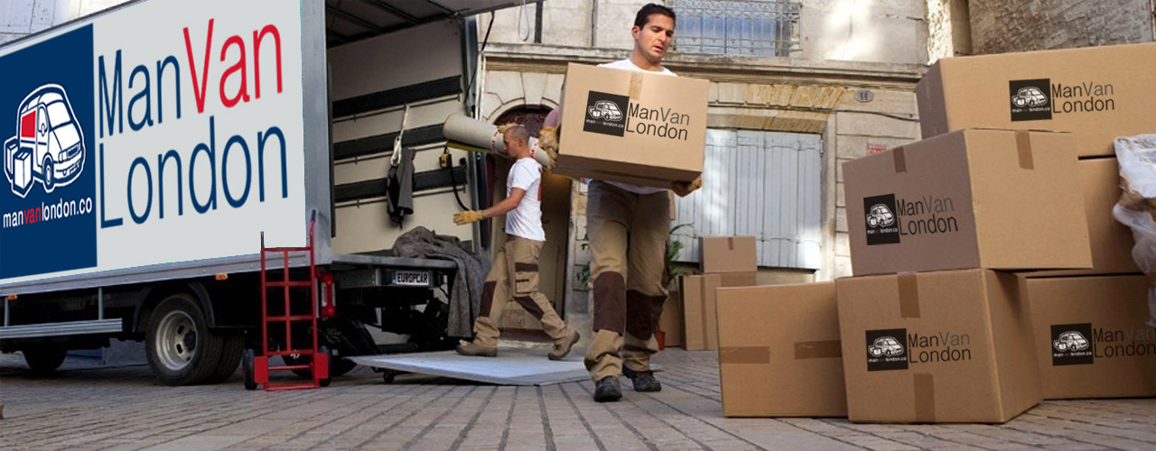 man-with-van-&-packing-boxes